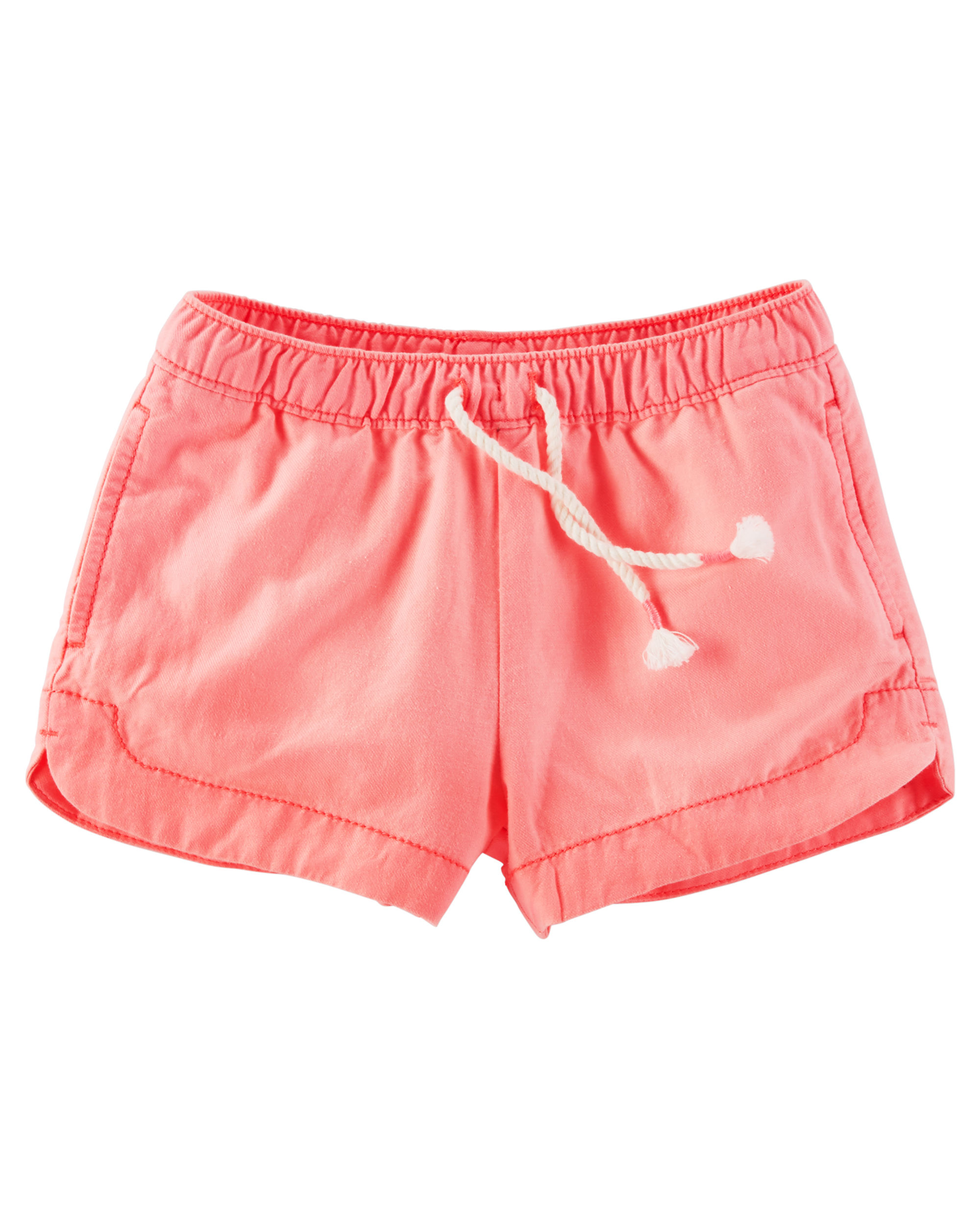 OshKosh B'gosh Baby Girls' Neon Sun Shorts, 18 Months