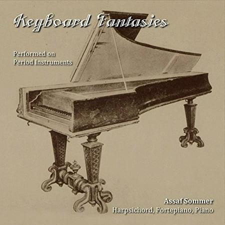 Keyboard Fantasies Performed On Period Instruments (CD)