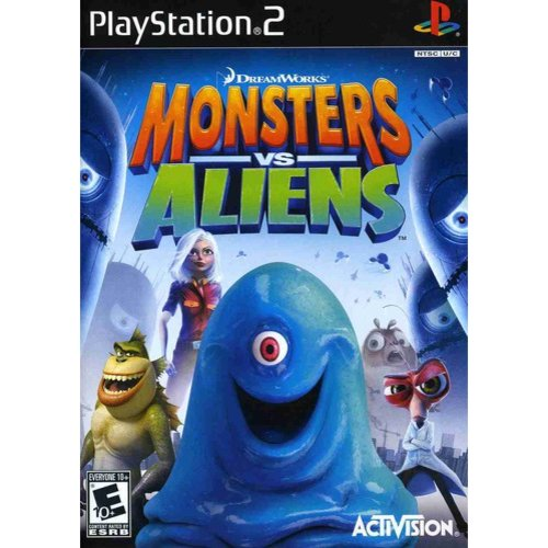 Monsters vs. Aliens - PlayStation 2