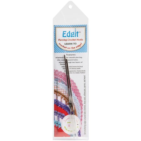 Crocheting Needles Walmart : Edgit Piercing Crochet Hooks Ammees Babies For Crocheting Edges Set of ...