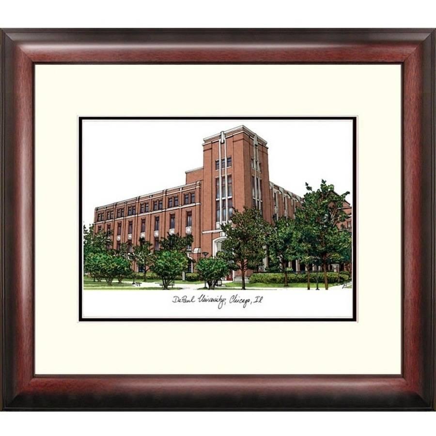 DePaul University Alumnus Framed Lithograph