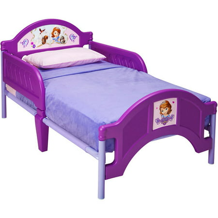 Sofia The First Plastic Toddler Bed