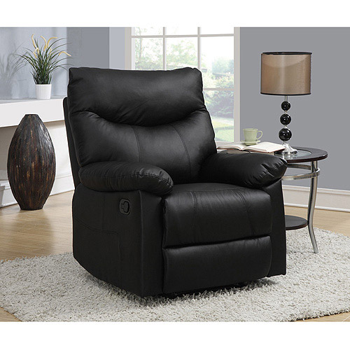 Kingston Faux Leather Recliner, Multiple Colors