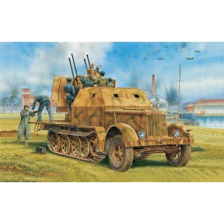 1/35 SdKfz 7/1 2cm FlaK 38 Gun w/Armor Cab (2 in 1)
