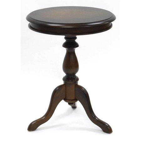 Side Table w Pedestal Base (Traditional Pedestal Base)