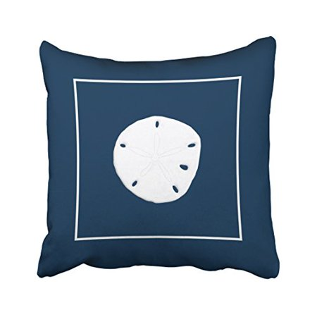 WinHome Square Throw Pillow Covers Nautical Popular Theme Round Simple Pattern Pillowcases Polyester 18 X 18 Inch With Hidden Zipper Home Sofa Cushion Decorative Pillowcase](Popular Themes)