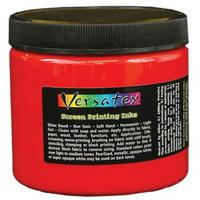 Jacquard Versatex Screen Printing Ink, 16 oz., Red