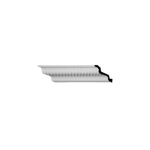 Ekena Millwork MLD04X05X07CI 4. 62 inch H x 5. 38 inch P x 6. 88 inch F x 96 inch L Carrillo Medium Crown Moulding