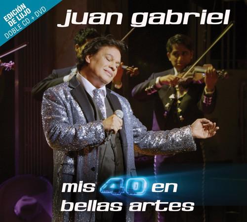 Mis 40 En Bellas Artes (Deluxe Edition) (2CDs and 1DVD)