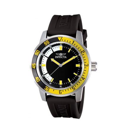 Invicta Men's Specialty Analog Quartz Watch - Yellow & Black
