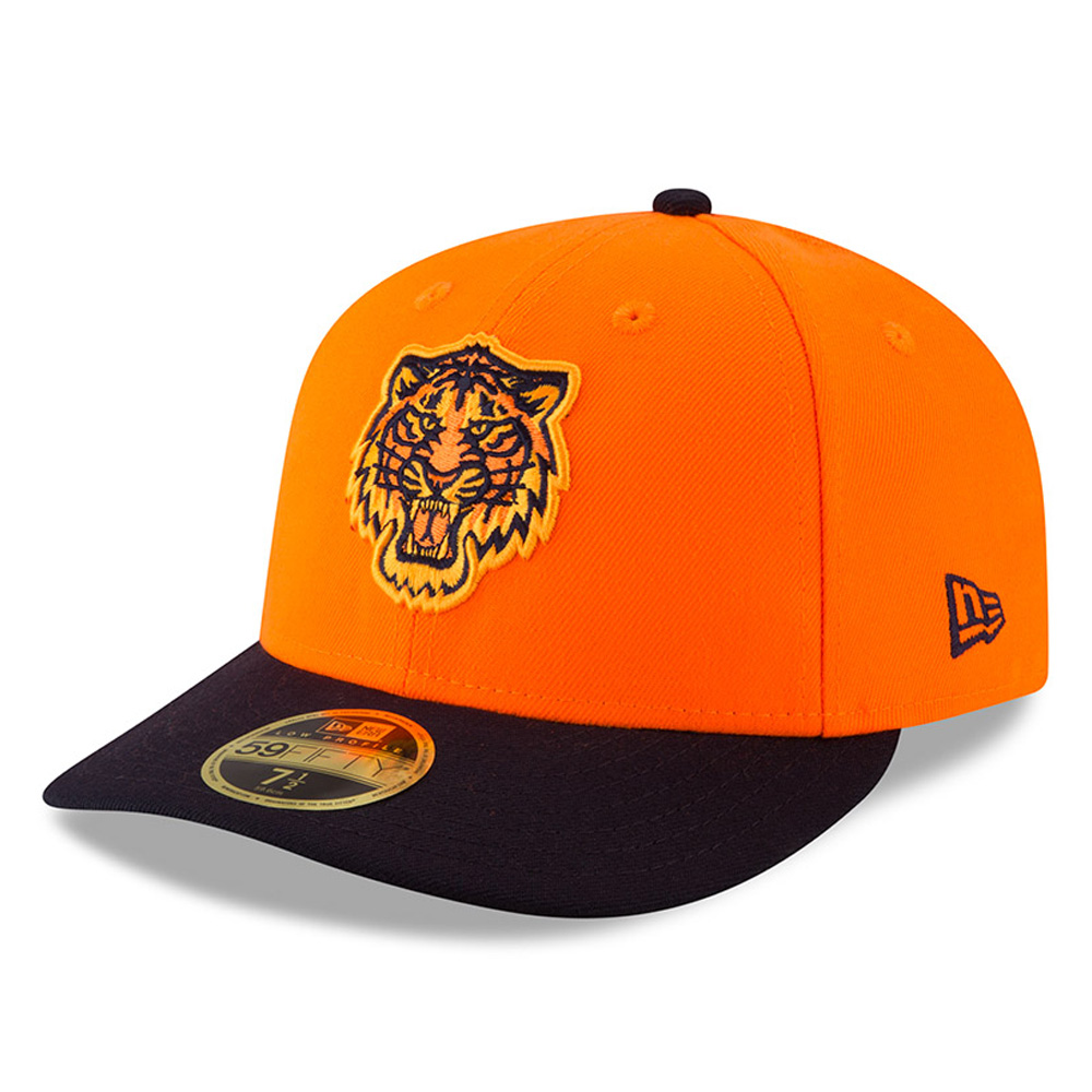 Detroit Tigers New Era 2018 Players' Weekend Low Profile 59FIFTY Fitted Hat - Orange/Navy