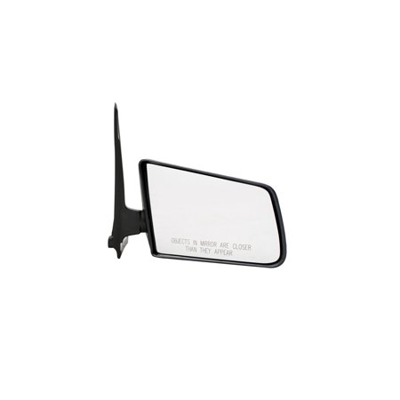 For Chevrolet S10 Blazer Black Manual Replacement Passenger Side Mirror (MI-059)