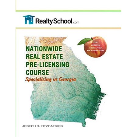 Nationwide Real Estate Pre Licensing Course  Specializing In Georgia