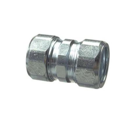 Halex 63615 Galvanized Steel Rigid Compression Coupling, 1.25 in. - image 1 de 1