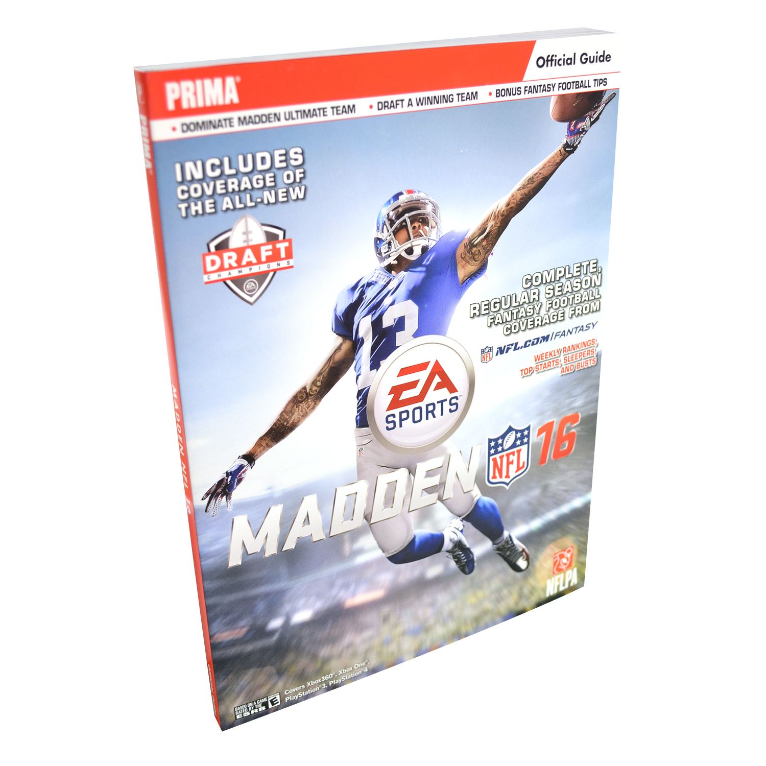 Prima Games Madden Nfl 16 Official Guide