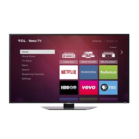 "Refurbished TCL 55"" Class FHD (1080P) Roku Smart LED TV (55FS4610R)"