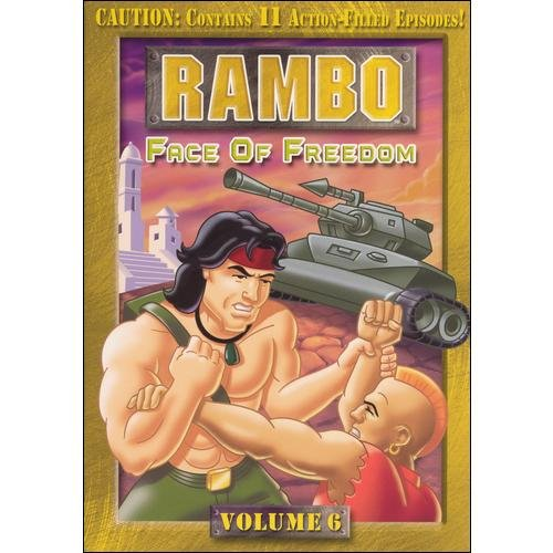 Rambo, Vol. 6: Face Of Freedom (Animated) (Full Frame)