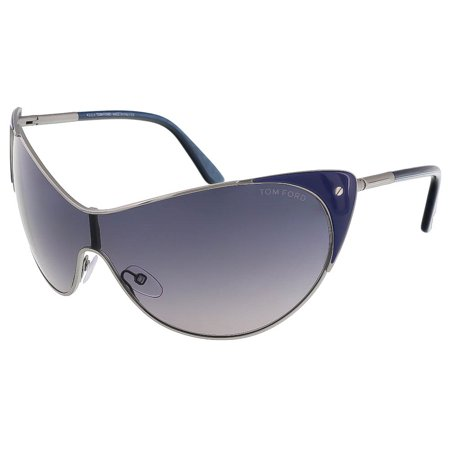 Tom Ford Ft0364 S 89W Vanda Midnight Blue Cat Eye Sunglasses