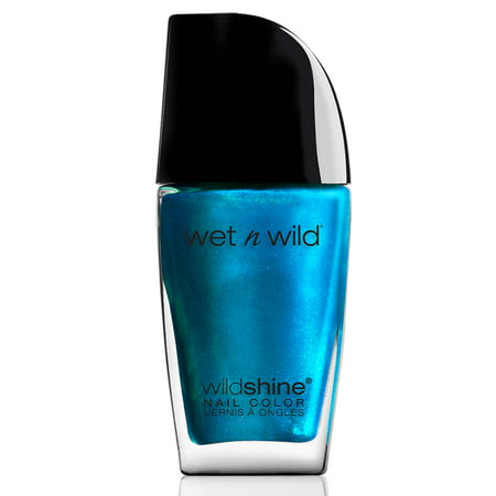 wet n wild Wild Shine Nail Color, Bijou Blue for $<!---->