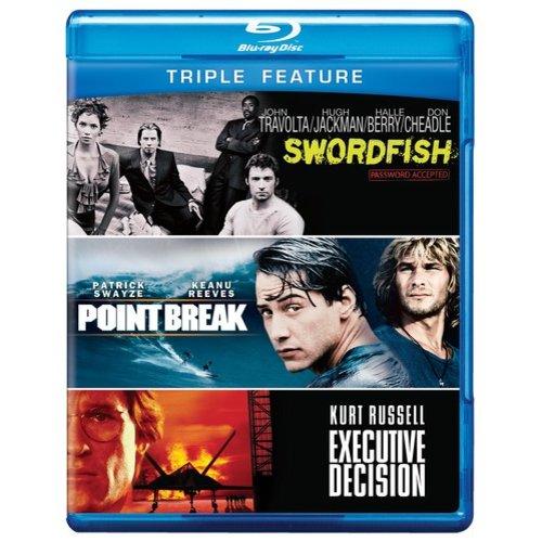 Executive Decision / Point Break / Swordfish (Blu-ray)