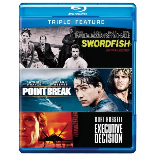 Executive Decision / Point Break / Swordfish (Blu-ray)