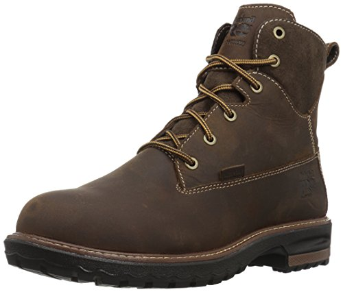 """Timberland PRO Women's Hightower 6"""" Alloy Toe Waterproof Industrial and Construction Shoe, Kaffe Full-Grain... by Timberland PRO"""
