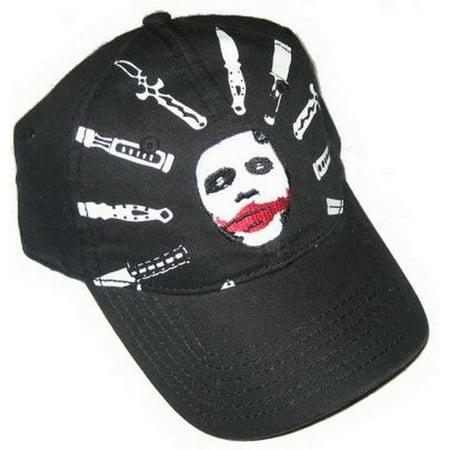 DC Comics Batman Joker Weapon of Choice Hat EMBT2257](Joker Hat Batman)