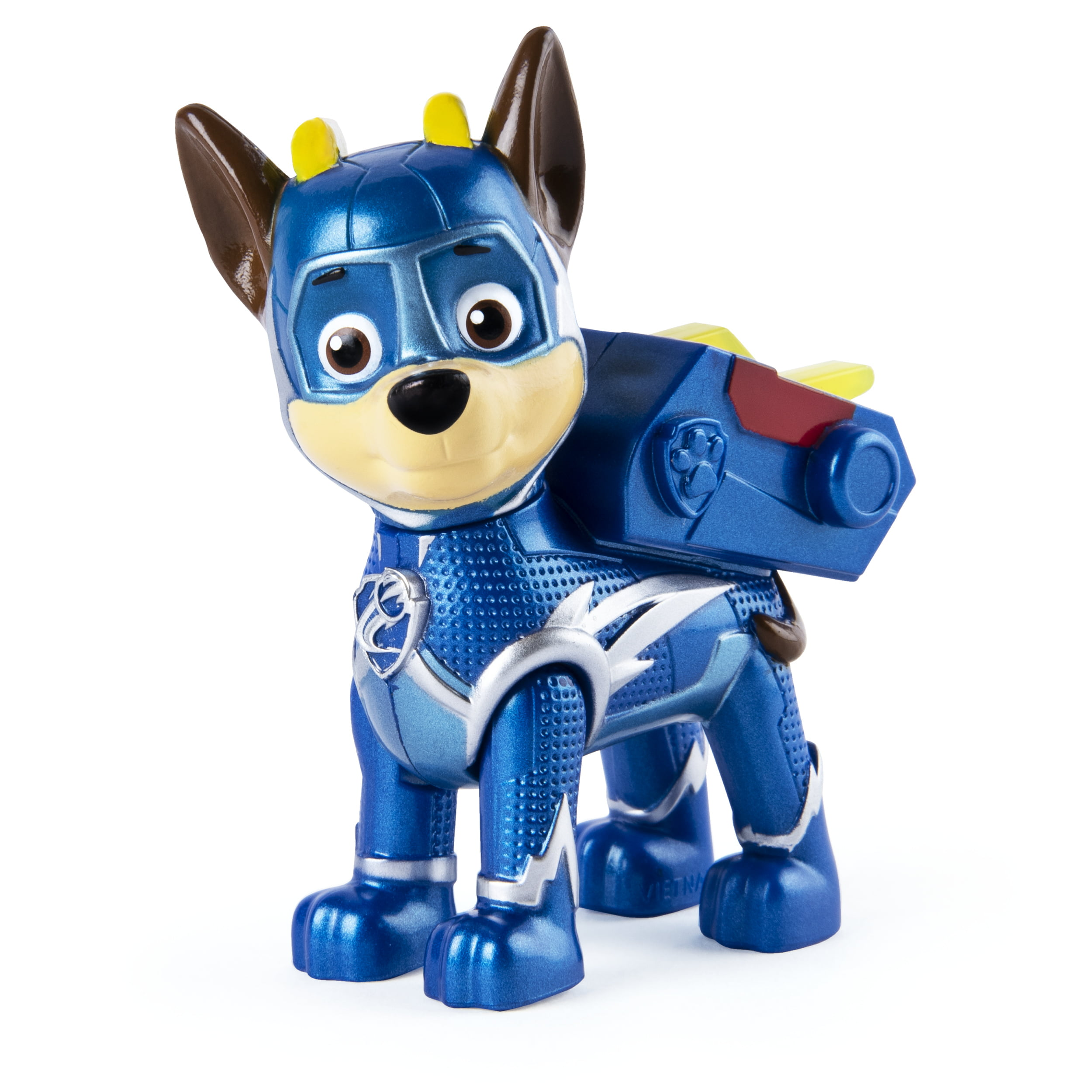 PAW Patrol, Mighty Pups Super PAWs Chase Figure with Transforming Backpack, for Kids Aged 3 and Up