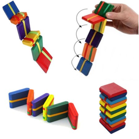 Jacobs Ladder Sensory Silent Classroom Hand Fidget Toy Autism Anxiety Tool