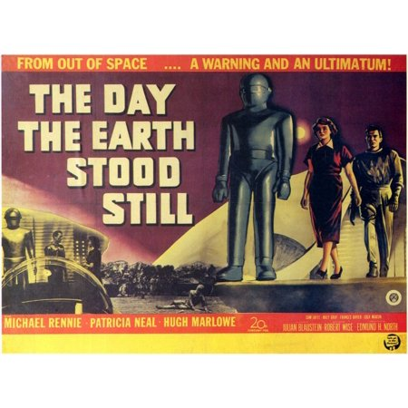 The Day The Earth Stood Still (1951) 11x17 Movie