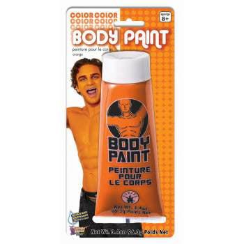 BODY PAINT-3.4OZ-ORANGE (Orange Body Paint)