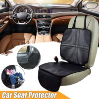 Infant Baby Car Seat Protector Saver Anti Slip Easy Clean Protector Safety Mat Cushion Cover Gift Black