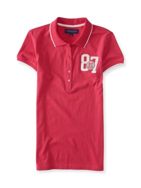Aeropostale Juniors Ny 87 Polo Shirt