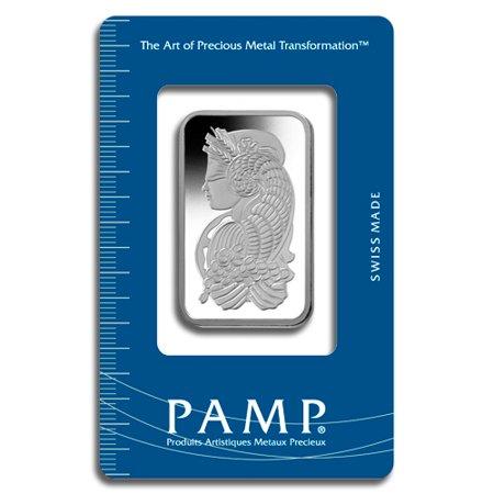 Pamp Suisse 1 oz Platnium Bar - Sealed in - Pimp Purple