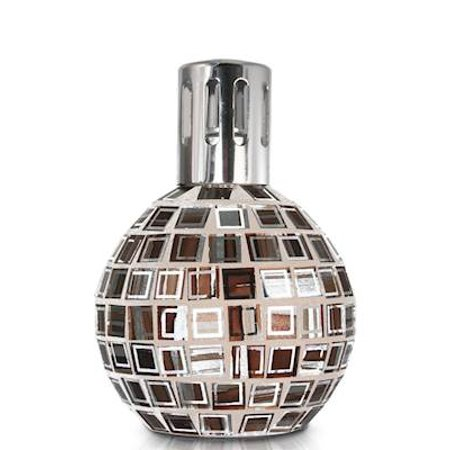 BRONZE WHITE MOSAIC Lampair Fragrance Lamp by Millefiori Milano