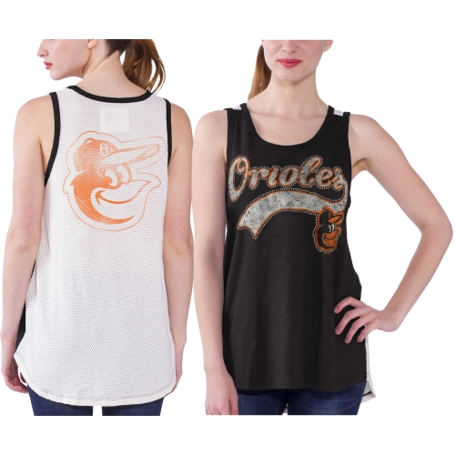 Baltimore Orioles Women's Era Tank Top - Black