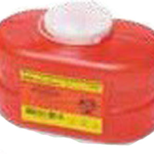Multi-Use 1 Piece Sharps Container 3.3 Qts