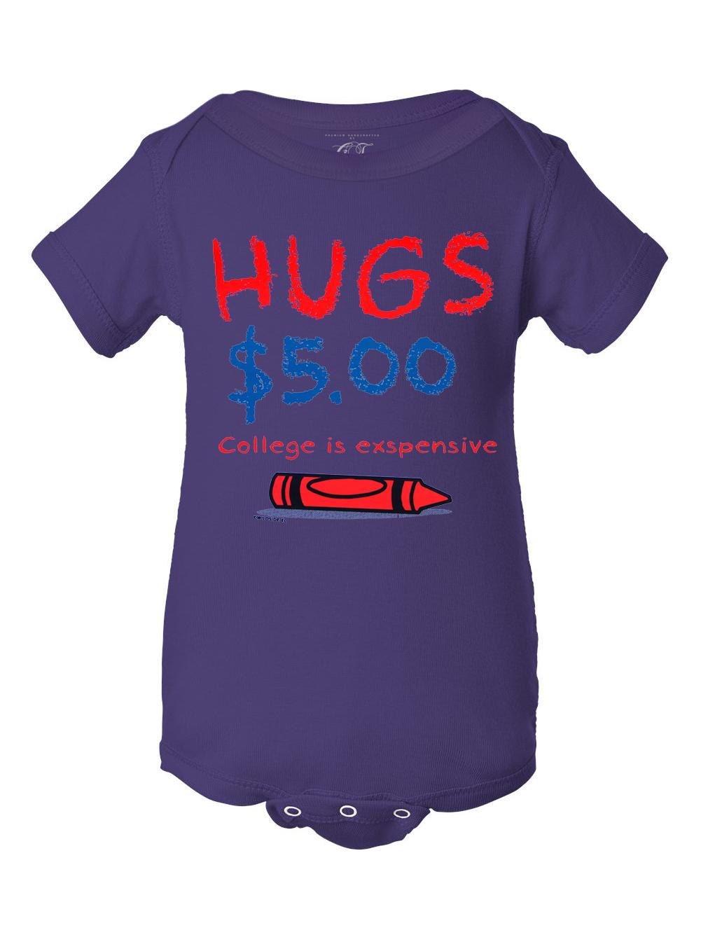 Infants Hugs $5.00 Bodysuit
