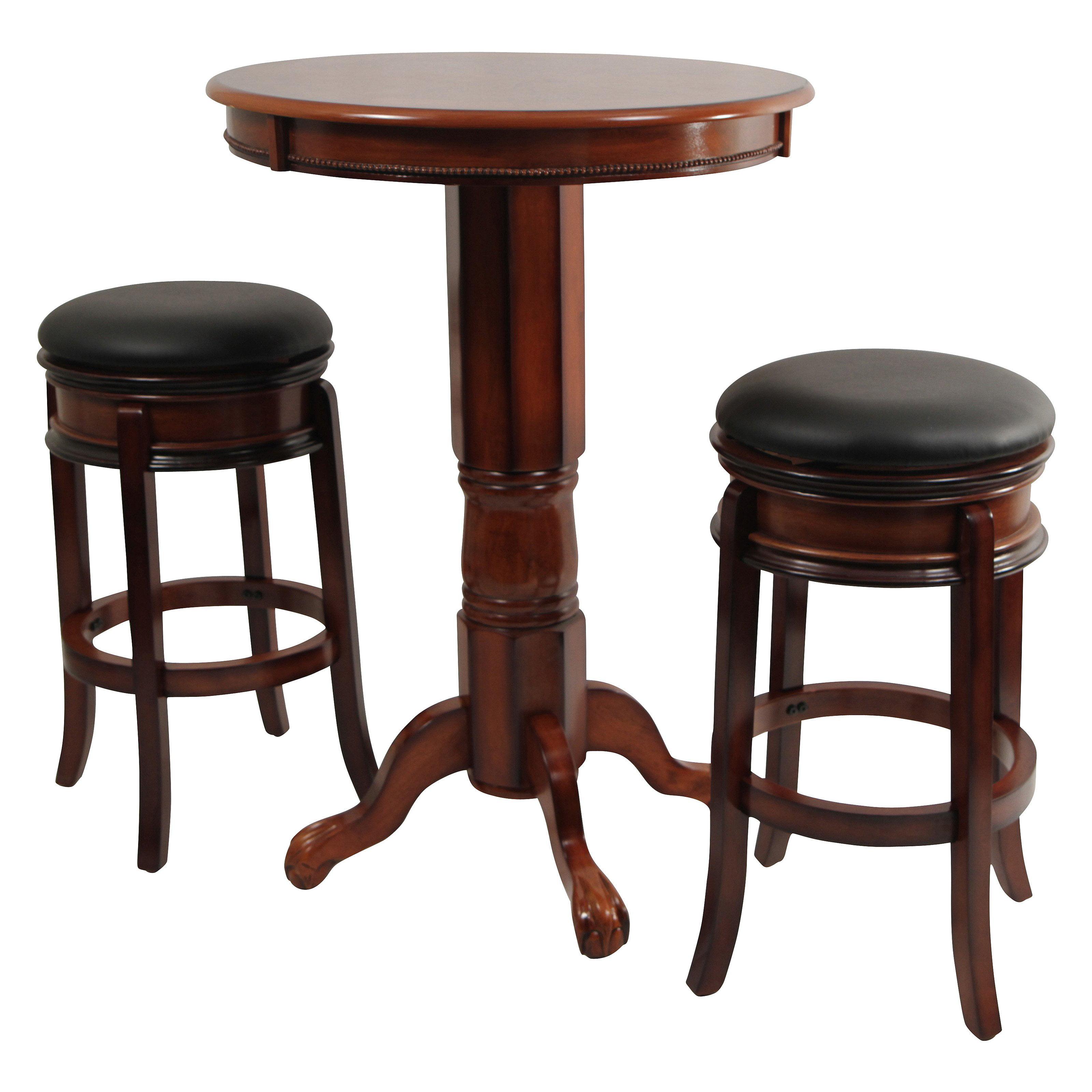 sc 1 st  Walmart & Boraam Magellan 3 Piece Pub Table Set - Walmart.com