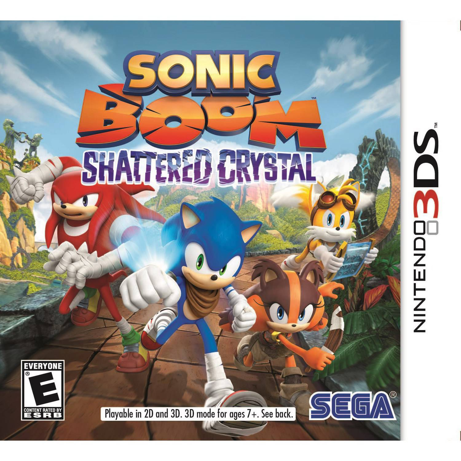 SonicBoom ShatteredCrystal (Nintendo 3DS)
