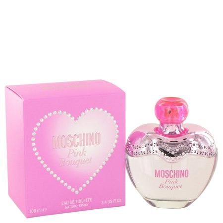 (pack 6) Moschino Pink Bouquet By Moschino Eau De Toilette Spray3.4 oz - image 1 of 2