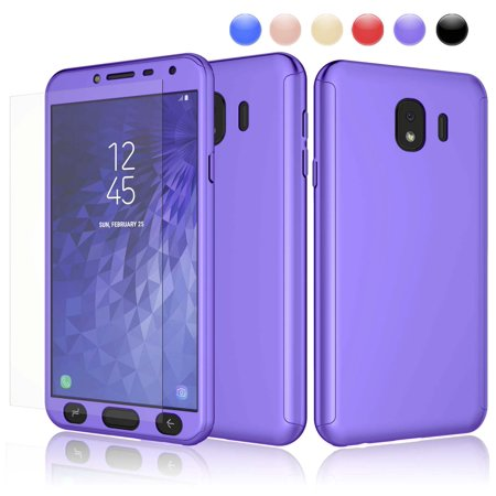 official photos f47ab 3d3f2 2018 Galaxy J4 Case, Case For Galaxy J4, J4 Screen Protector, Njjex Thin  Premium Dual Layer Hard Case For Galaxy J4 with Tempered Glass Screen ...