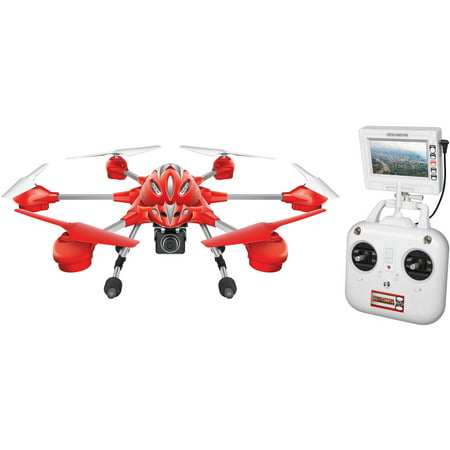 Alpha 2.4GHz 4.5-Channel Camera R/C Spy Drone - Color may vary