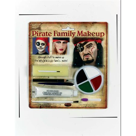 Costumes For All Occasions Fw9475P Pirate Family Makeup Kit
