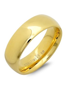 Ladies Classical 6 Mm. Wedding Band Ring, Gold, Size -7