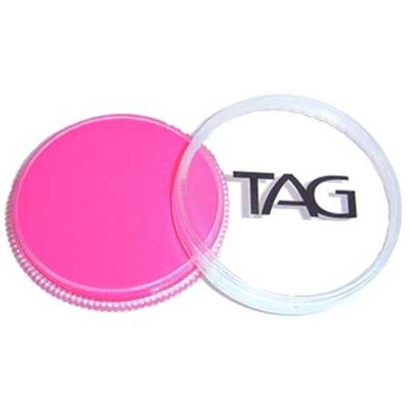 TAG Face Paints - Neon Magenta (32 gm) - Neon Face Paint Patterns