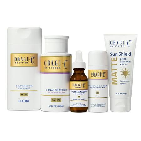 Obagi Medical Obagi-C Fx System, Normal to Oily Skin, 5 Piece System (Obagi Kits)