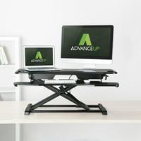 "AdvanceUp 2-Tier Standing Desk Converter Adjustable Workstation, 37.4"""