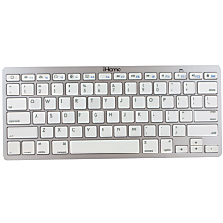 iHOME IMAC-K111S - Keyboard - Bluetooth - silver