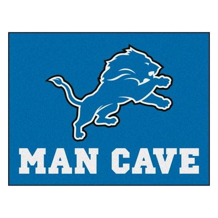 Nittany Lions Rug - NFL - Detroit Lions Man Cave Starter Rug 19